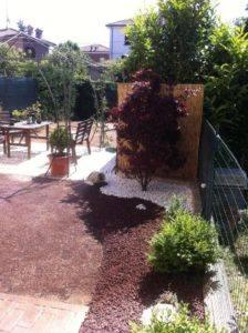 Reggio Emilia – Pavimentazione, gazebo, aiuole