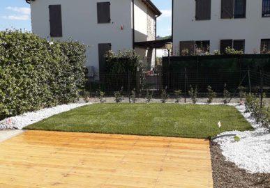 Marano sul Panaro – Progettazione e realizzazione giardino