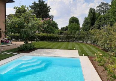Correggio – Progettazione verde e piscina